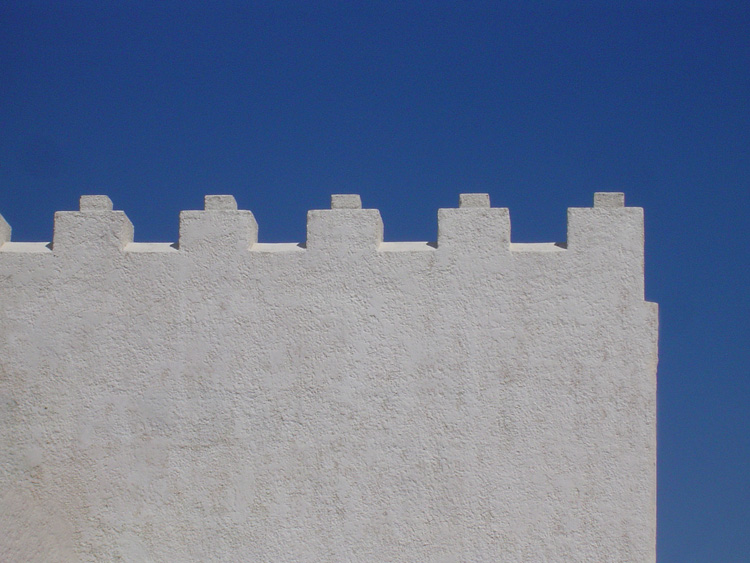 The roof wall, Oceanis, Kos island, Greece