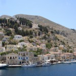 The scenic, picturesque Isle of Symi, just a small boat trip away from Rhodes. Very tranquil.