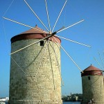 Windmills of Rhodes