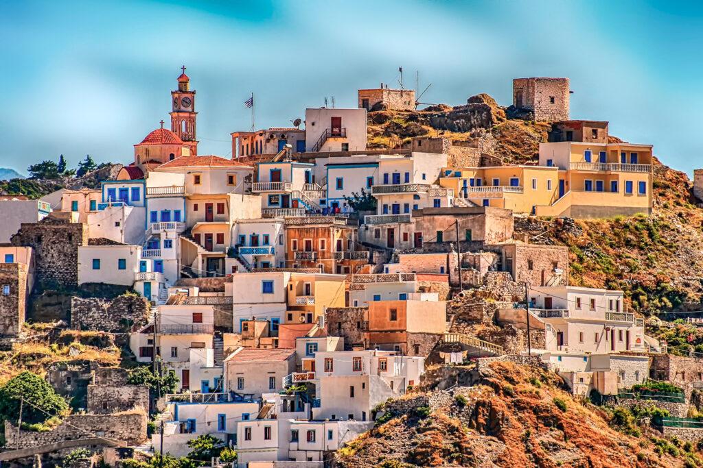 Olympos village, Karpathos, Dodecanese Greece
