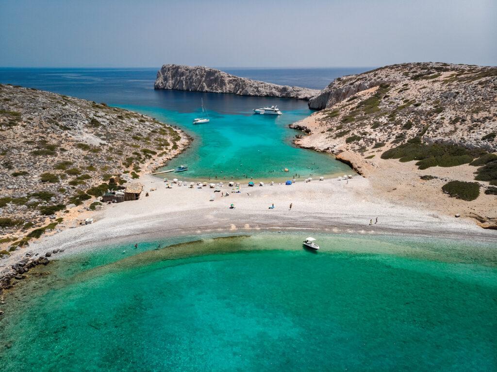 Kounoupi island near Astypalea, Dodecanese Greece