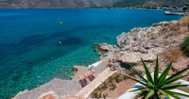 Summer in Tilos island, Dodecanese Greece