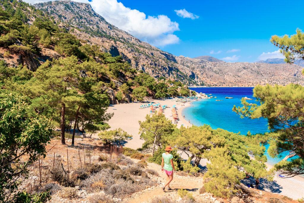 Apella beach, Karpathos, Dodecanese Greece