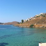 A beach in Kea (Tzia), Cyclades, Greece