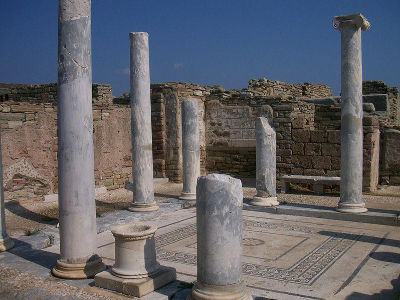Ancient Delos, Cyclades, Greece