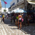 Antiparos street, Cyclades, Greece