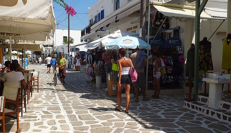 Antiparos street, Cyclades, Greece