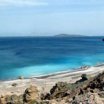 Antiperatos beach, Kasos island, Dodecanese, Greece