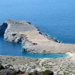 Aulaki beach, Kasos island, Dodecanese, Greece