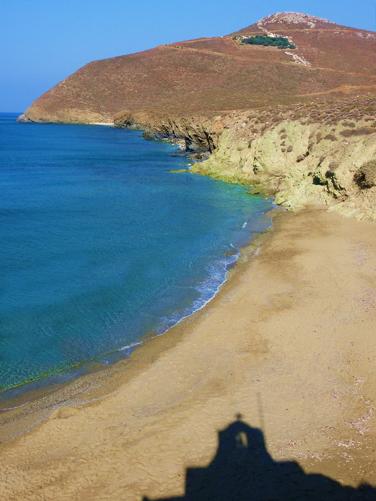 Beach on Anafi island, Cyclades, Greece - Photo by Sotiris Lambadaridis