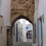 Castro-camara in Antiparos, Cyclades, Greece