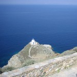 Chapel below Kastro, Sifnos, Cyclades, Greece