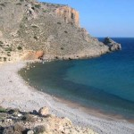 One of the beaches at Chelatros, Kasos island, Greece