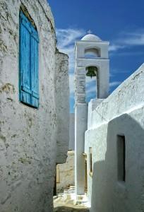 Chora, Amorgos - Photo by S. Lambadaridis