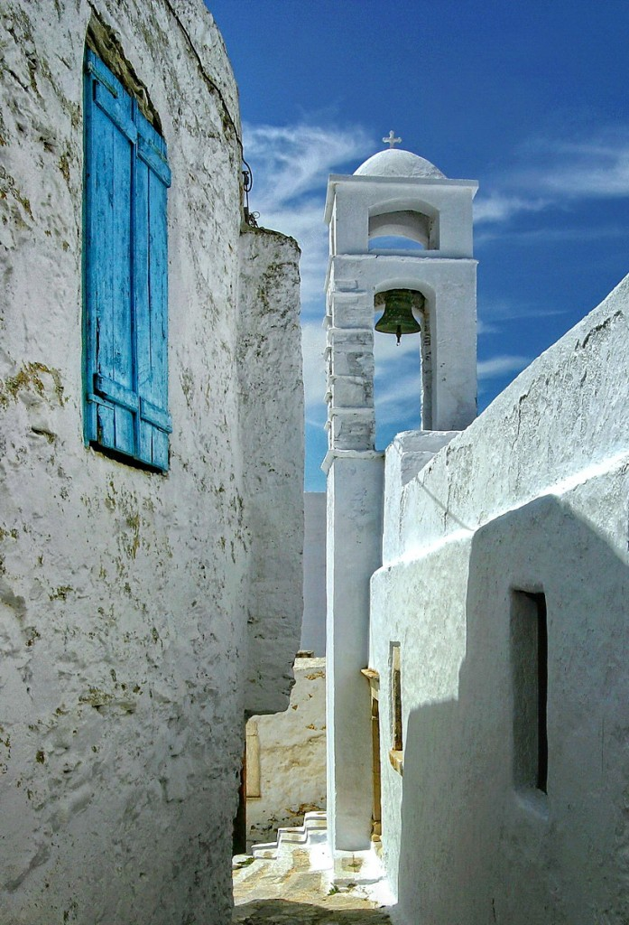 Chora, Amorgos - Photo by S. Lambadaridis