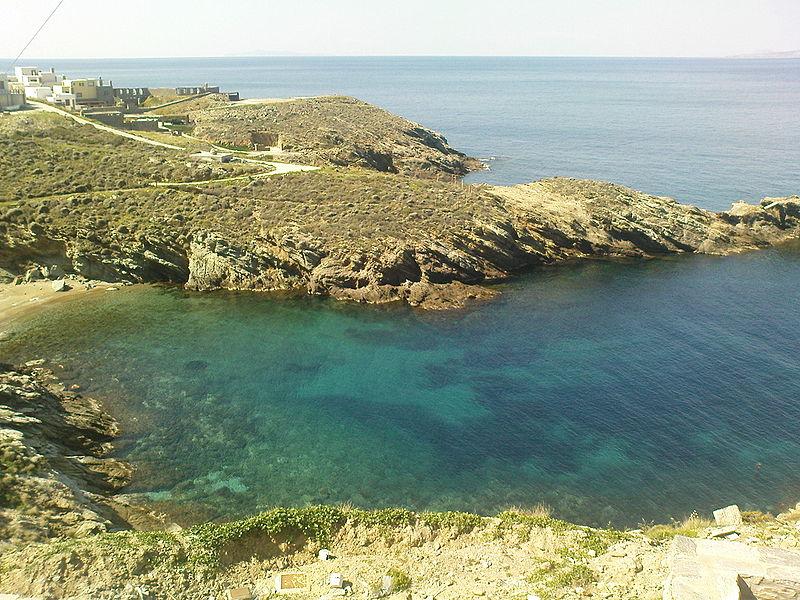 Coast of Kea island, Cyclades, Greece