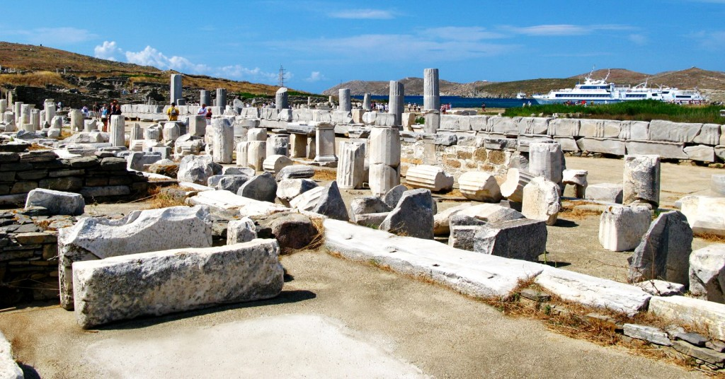 Delos island - Photo by S. Lambadaridis