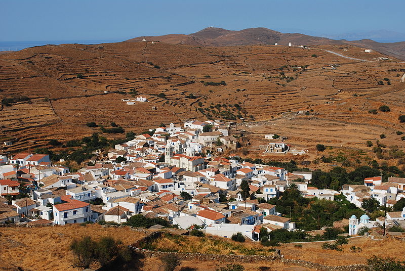 Driopida, Kythnos, Greece