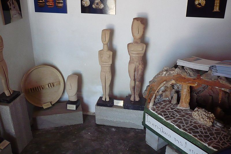 Exhibits at the local museum, Antiparos, Cyclades, Greece