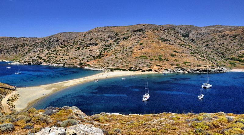 Flykada beach, Kythnos - Photo by S. Lambadaridis