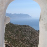 From the Panagia Chosoviotissa monastery, Amorgos, Greece