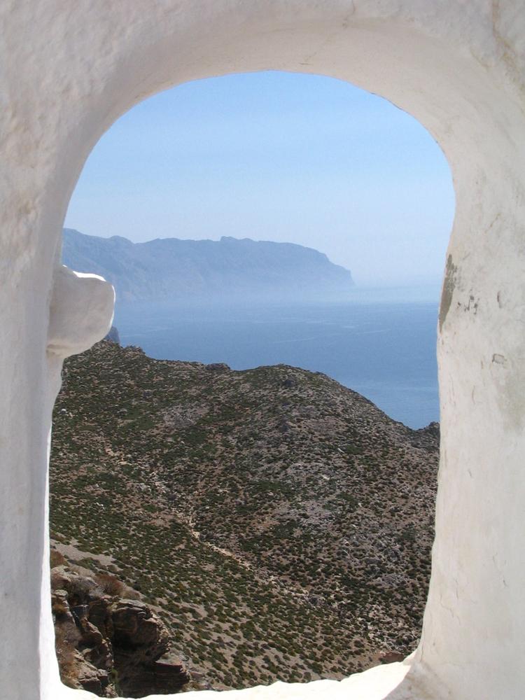 From the Panagia Chosoviotissa monastery, Amorgos, Greece
