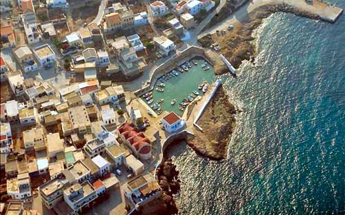 Fry port, Kasos island, Dodecanese, Greece