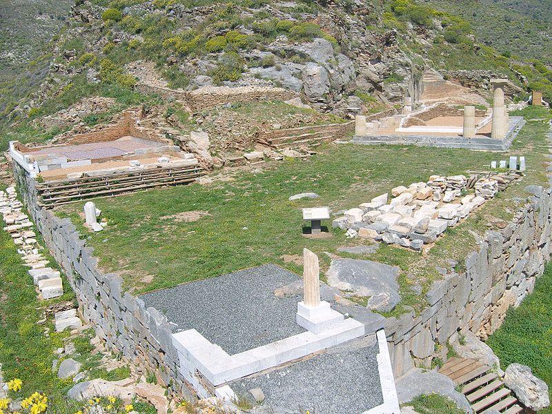 Karthea, the upper plateau, Tzia, Cyclades, Greece