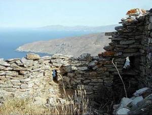 Kastro Faneromenis, Andros island, Greece