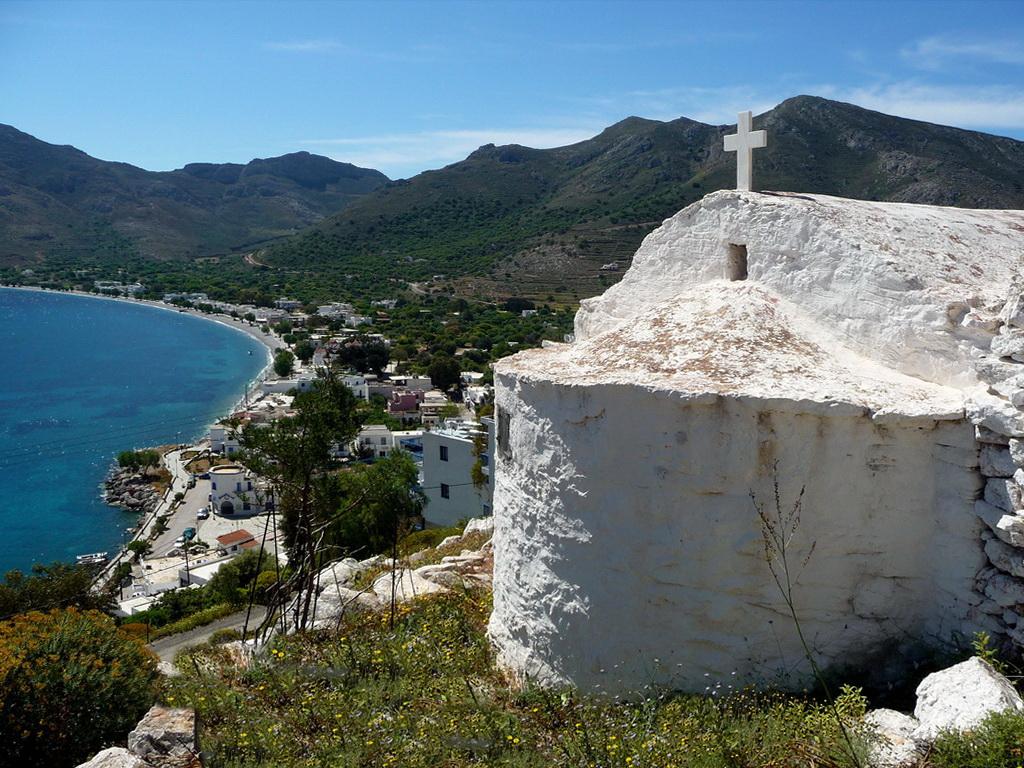Livadia, Tilos island, Greece - Photo by S. Lambadaridis