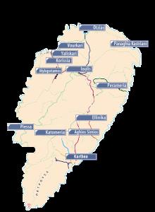 Map of Tzia