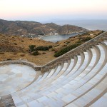 Odysseas Elytis Theatre on Ios, Cyclades, Greece