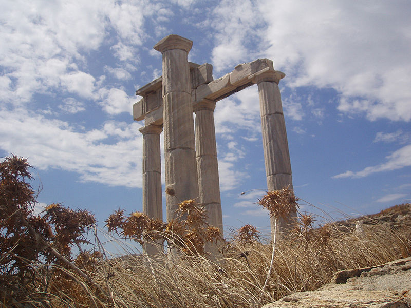 Ancient Delos, Cyclades, Greece