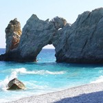 Lalaria beach on Skiathos, Sporades, Greece