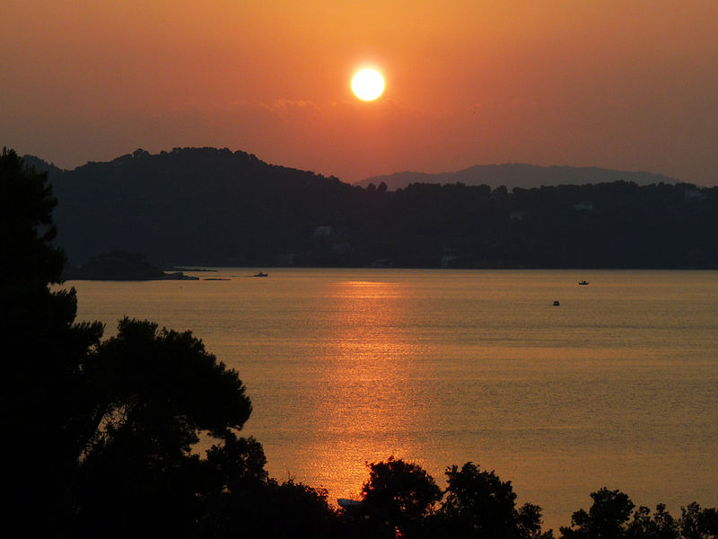 Sunrise at Vasilias, Alonnisos, Greece