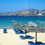 Milopotas Beach on Ios, Cyclades, Greece