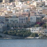 View of Hermoupolis, Syros, Cyclades, Greece