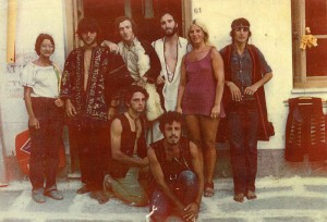 Young Hippies on Ios during the 70s