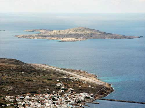 Kasos airport, Dodecanese, Greece