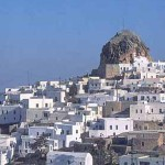 Chora Amorgos, Cyclades, Greece