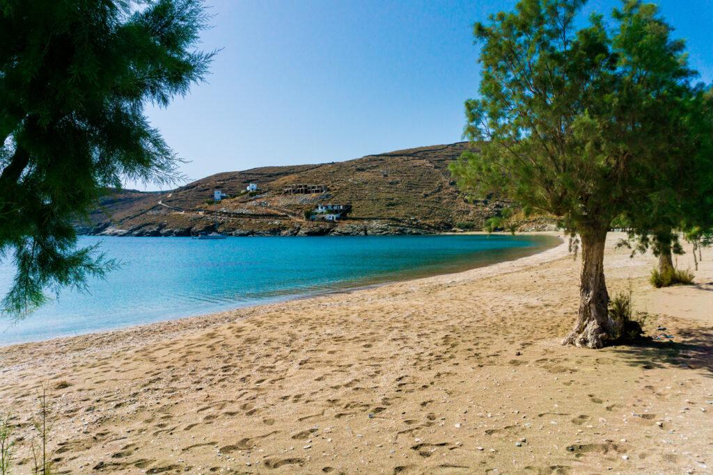 Apokrousi beach, Kythnos island, Cyclades, Greece
