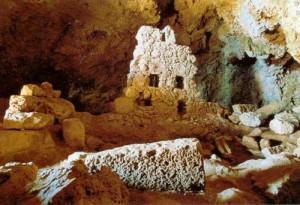Ellinokamara Cave, Kasos island, Dodecanese, Greece