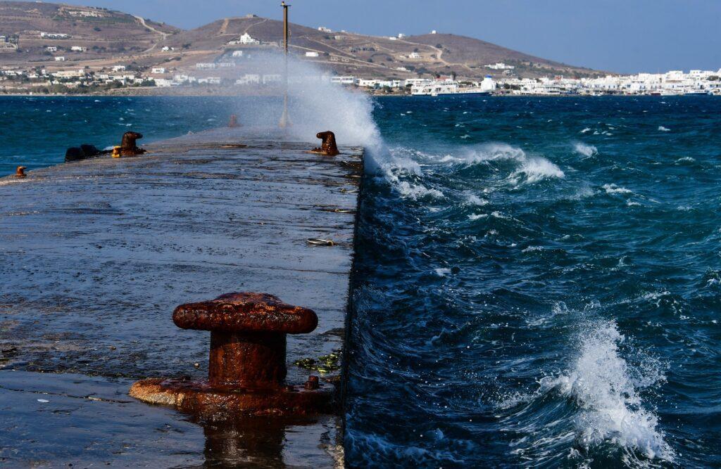 Travel to Antiparos, Greece - Port of Antiparos