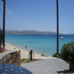 Agios Prokopis, beach on Naxos