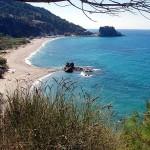 Beach of Potami, Samos, Greece