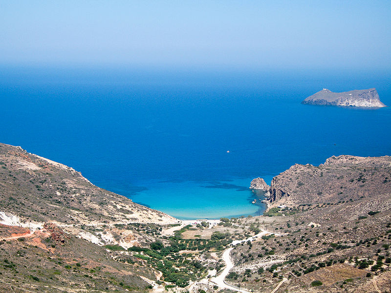Beach on Milos