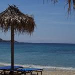 Cosmopolitan Psarou beach, Mykonos, Greece