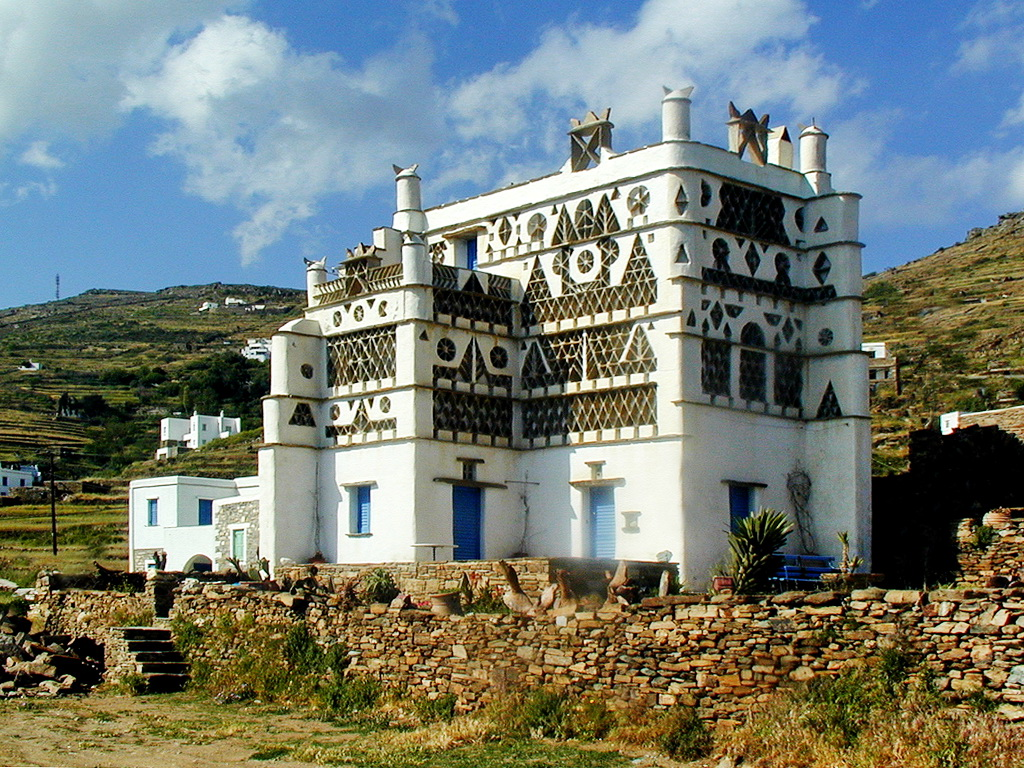 Dove House, Tinos island - Photo by S. Lambadaridis