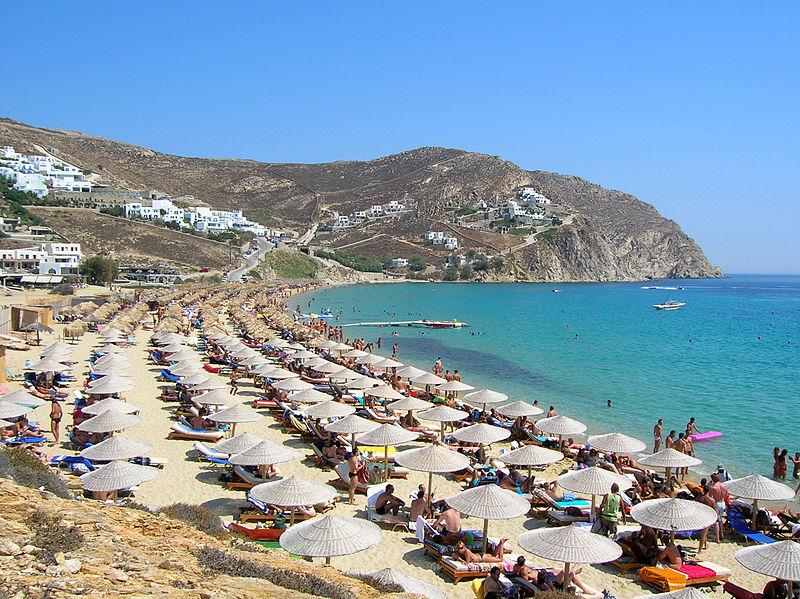 Elias Beach, Mykonos, Greece