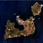 Milos, Kimolos (north), Polyaigos (East), Antimilos (west)